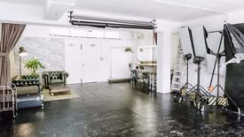 Photo / Film / Photography studio for hire.4/8/12 hours. Fully equipped 900sq ft in central location
