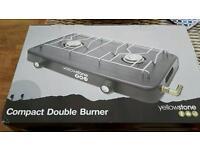 Yellowstone compact double burner