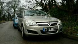 Vauxhall astra Automatic 1.8 life 5doors manual.