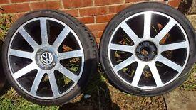 "Wv Audi 18"" Alloy Wheels"