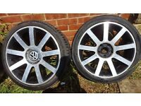 "Wv Audi 18"" Alloy Wheels"