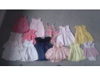 Large bundle baby girl clothes
