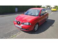 Red Seat Ibiza 1.2 - Great fun to drive!