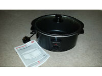 Morphy Richards Slow Cooker 6.5L. Never been used.
