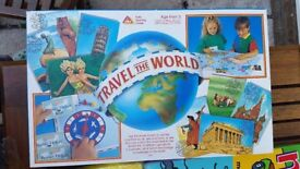 Travel the World Board Game