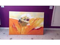 Oil canvas painting