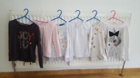 Long sleeves tops size 4 to 5 years .