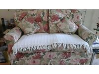 FOR SALE FLORAL 2 SEATER SOFA