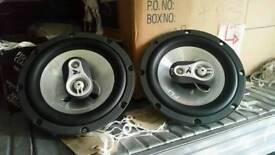 Fli car small front door speakers