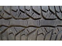 Set of Kleber Krisalp HP2 winter tyres 205 60 R15 in good condition available. Pick up only. £100.