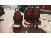 Fiat ducato front seats