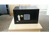 Yale digital electronic steel security safe box- home office - money passport