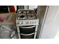 Logik Gas Double Oven Cooker - Free Local Delivery