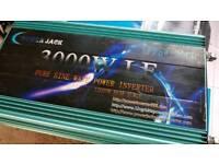 24v to 220v inverter 3000 w truck lorry solar power