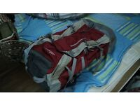 Deuter 45L+10L travel backpack Like new!!)