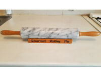 Marble Rolling Pin and Stand