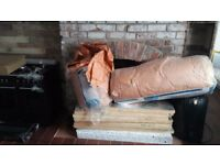 Insulation job lot: loft insulation, kingspan boards and polystyrene insulation boards