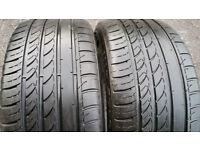 235 35 19 2 x tyres Autogrip Radial F105