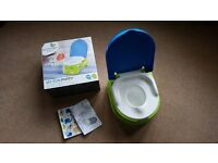 NEW in box My Fun Potty / Step Stool with Removable Seat for use on standard toilet