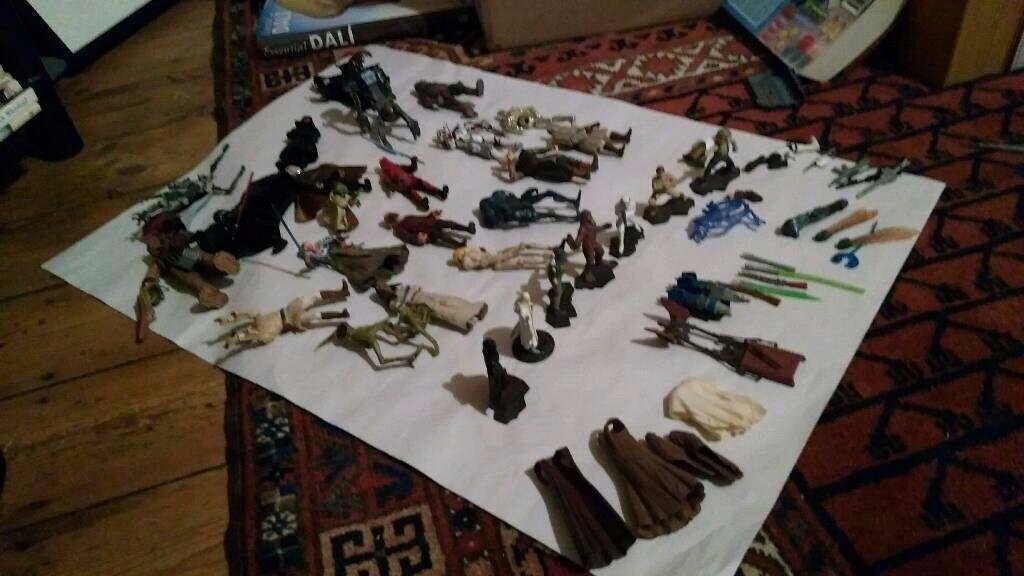 Star Wars figurines. Job lot