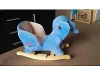 Rocking elephant.