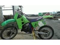 Kawasaki kx 125 project