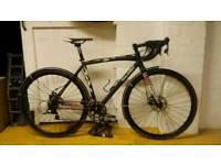 Raleigh cx 54 cm. Road bike