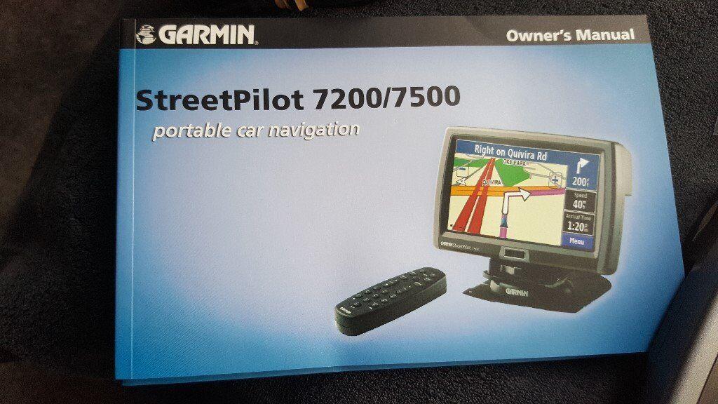 street pilot sat nav