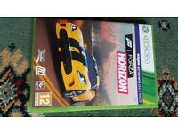 XBOX 360 Forza Horizon game.