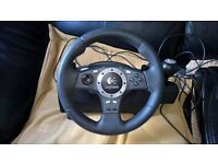 Logitech Driving Force Pro Wheel for PS3 / PC