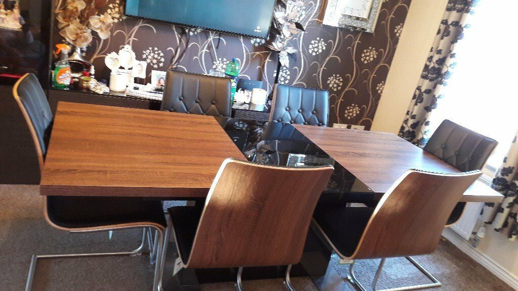 Harveys Vieux Extending Dining Table Amp 6 Chairs In