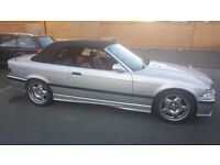 1999 E36 318i Cabriolet - Genuine M Sport - low miles - Electric roof, red leather, Convertible etc