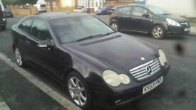 Mercedes Benz C CLASS 2003 94000 miles diesel full service history
