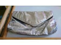 Silver handbag