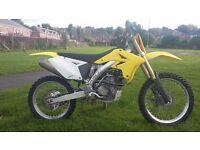 2009 rmz 250... swap for 125