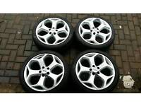 GENUINE FORD FOCUS ST 18 INCH ALLOY WHEELS 5X108 MONDEO ST RS TDCI S C MAX CONNECT