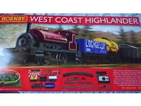 Hornby West Coast Highlander Train Set Fully Only Used Once