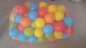 Tesco colour small balls