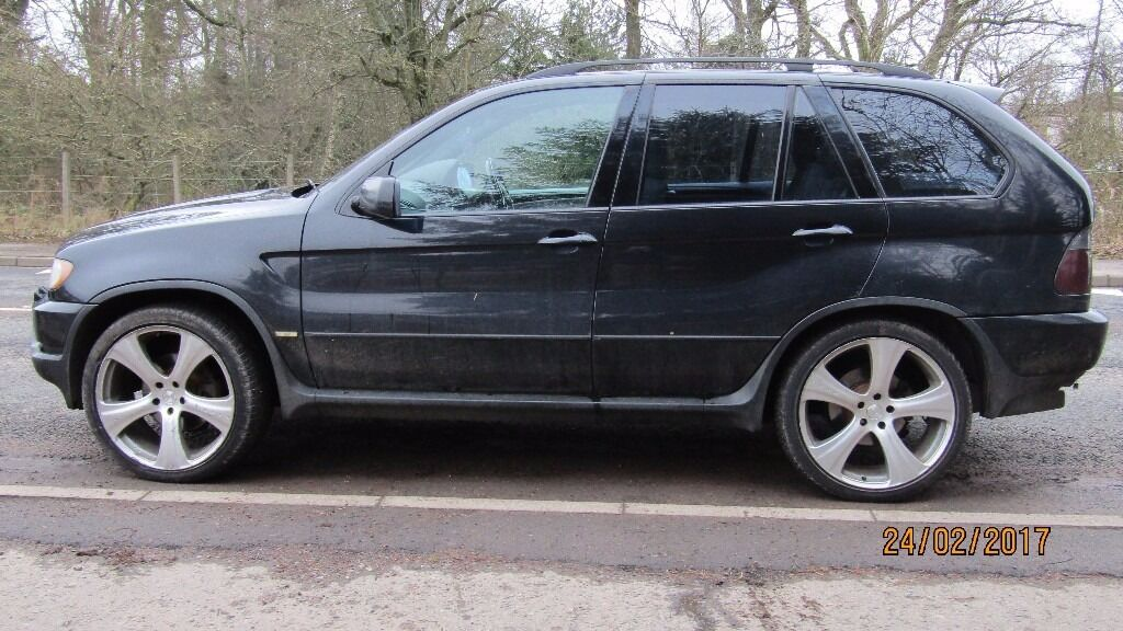 bmw x5 44 suv 4x4 2002 sport 5dr  in Newmains North Lanarkshire