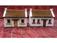 oranamental thached cottages