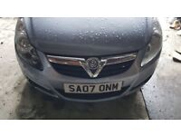 Vauxhall CORSA, 2007 year, low mileage, for SALE