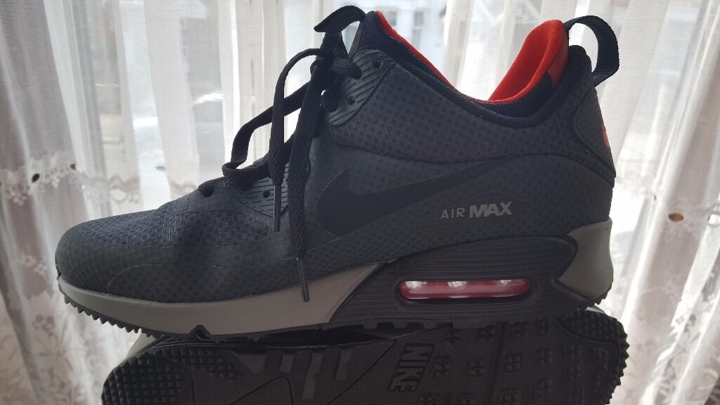 whelt Nike Air Max 90 Mid Winter trainers Sz 7/41 - Brand new | in Wood