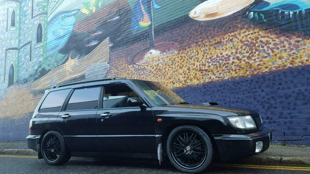 Subaru Forester 2 0 Turbo 250bhp Lowered In Jarrow Tyne And
