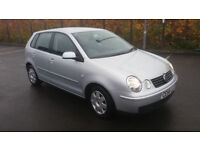 2004(54)VW POLO 1.4 TWIST MET SILVER,5DR,CLEAN CAR,GREAT VALUE