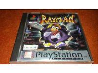 Rayman Playstation One Original Boxed
