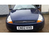 FORD KA LUXURY CREAM LEATHER ALLOYS STEREO LOW MILEAGE CHEAP RUNNER AROUND SPARES OR REPAIR