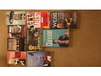 Selection of books (mainly sport/football)