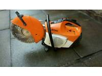 Stihl TS410 Petrol Stone Cutter In GOOD Condition