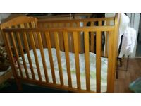 Mothercare Cot bed 0-3 year