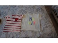 2x t-shirt(New) +3 pairs of trousers